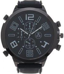 reloj análogo casual negro vox