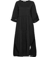 casual statement dress 3/4 sleeve dresses everyday dresses svart dorothee schumacher