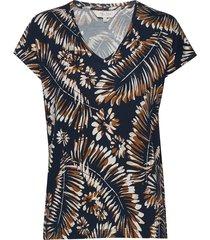 calinapw ts t-shirts & tops short-sleeved multi/mönstrad part two