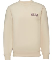 big sur sweatshirt sweat-shirt tröja creme gap