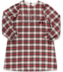 tartan cotton flanel dress