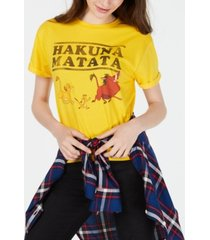 disney juniors' the lion king graphic t-shirt by mighty fine