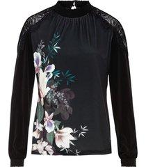 maglia stampata (nero) - bodyflirt
