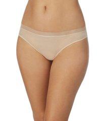 dkny women's glisten & gloss thong underwear dk5032