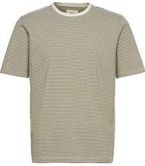 1x1 stripe tee t-shirts short-sleeved grön folk
