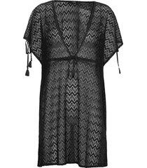 malaga beach dress kort klänning svart missya