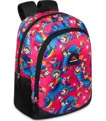 mochila unicorn estampada m.color para mujer croydon