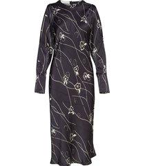 ariana dress maxiklänning festklänning svart busnel