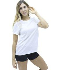 camiseta blanco nike sleeve running