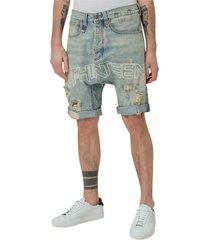 bermuda shorts with print