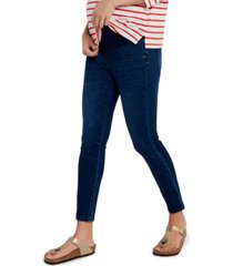 a pea in the pod luxe secret fit belly skinny maternity jeans