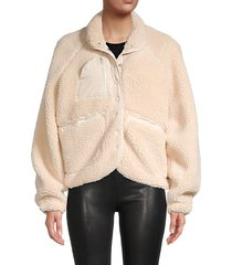 oversized fleece jacket