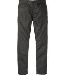 pantaloni elasticizzati rivestiti slim fit straight (grigio) - rainbow
