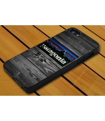 patagonia wood door for iphone 4 5c 5s se 6 6+ 7 7+ samsung htc lg ipod case