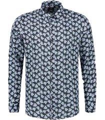 dstrezzed shirt l/s linen flower 303304/649