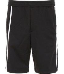 helmut lang bermuda shorts with bands