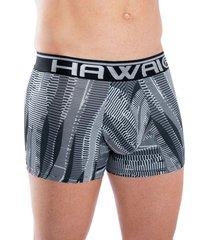 bóxer corto hawai negro