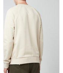 balmain men's printed sweatshirt - yellow/black - xl