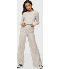 nly trend ribbed ls cozy set jumpsuits