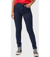 jeans wrangler medium negro - calce slim fit
