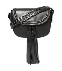 bolsa de couro griffazzi preta