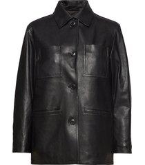 iris leather jacket läderjacka skinnjacka svart filippa k