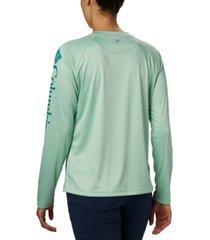 columbia women's pfg tidal tee ii omni-shade t-shirt