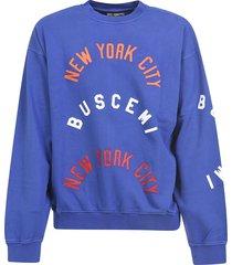 buscemi over fit twill sweatshirt