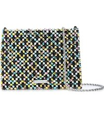loeffler randall mia beaded clutch bag - multicolour