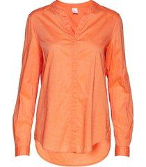 efelize_9 blus långärmad orange boss casual wear