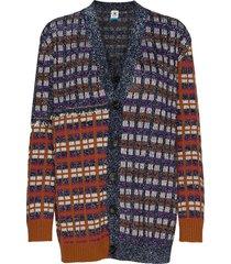 m missoni jackets stickad tröja cardigan multi/mönstrad m missoni