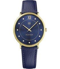 reloj azul tommy hilfiger 1781807 - superbrands