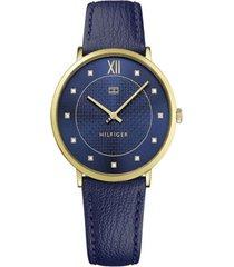 reloj tommy hilfiger 1781807 azul -superbrands