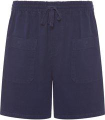 bermuda masculina e-fabric deep - azul marinho
