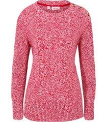 maglione a trecce (rosso) - john baner jeanswear