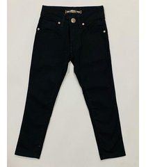 pantalón negro waiting boys corte jean