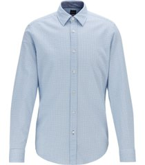 boss men's lukas 53 regular-fit cotton shirt