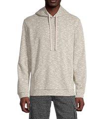 michael cotton-blend hoodie