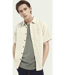 scotch & soda relaxed fit overhemd