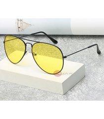 black-night diver sunglasses yellow lens uv400 eyewear