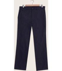 pantalón azul recto azul 34
