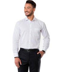 camisa formal puño simple blanco arrow