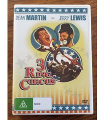 3 ring circus (three ring circus) dvd - dean martin and jerry lewis 1954 comedy