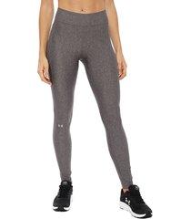 leggings under armour gris - calce ajustado