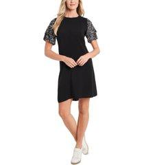 cece tiered ruffle-sleeve dress