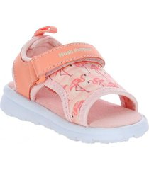 sandalia ghost piel coral hush puppies