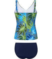 tankini mare blu xtra life met bladprint van fashy multicolour