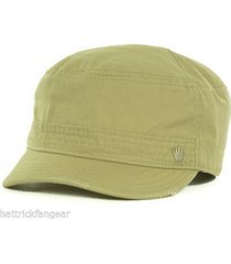 no bad ideas stitch pieced military style cap hat  khaki   osfm  stash pocket