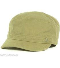 no bad ideas stitch pieced military style cap hat  khaki   osfm  stash pocket