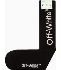off-white arrows mid length socks omra001f21kni004